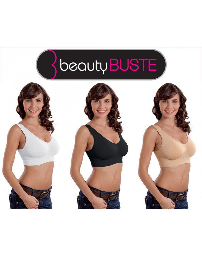 Beauty Buste - Lot de 3