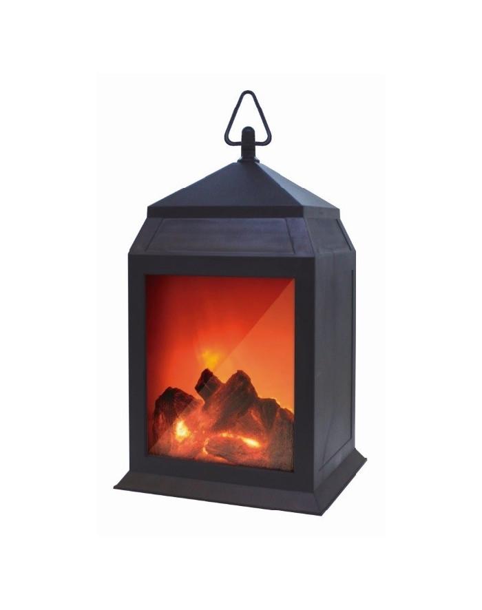 Starlyf Fire - Lanterne effet cheminée